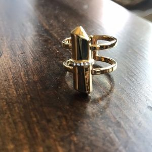 Stella and Dot gold ring